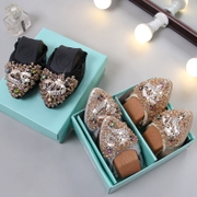 Diamond pointed shoes shoes and Doug flat shoes soft bottom mother female Korean women shoes size shoes