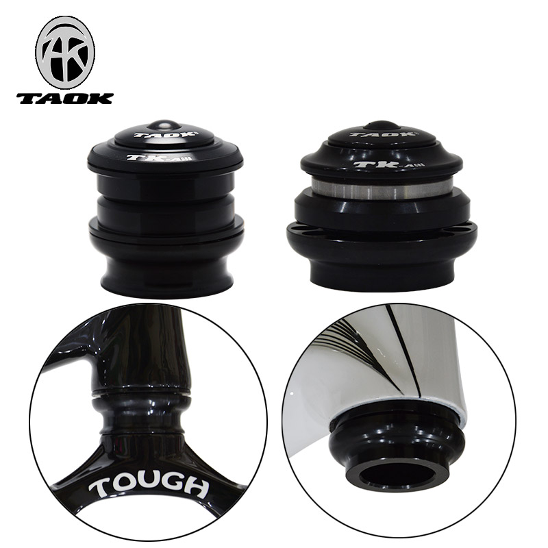 TAOK Tuoke Mountain Bike Bowl Set 44/52mm Bearing Peilin Wrist Set Head Increasing Bowl Set for Highway Bicycle