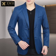 2017 new small suit male casual jacket autumn thin Levis casual jacket single Western Youth