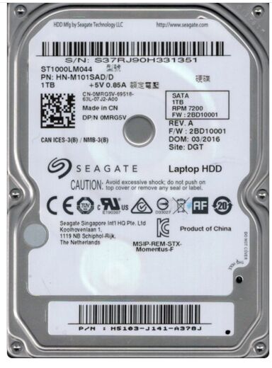 Seagate 1TB notebook hard drive st1000lm044 7200 64M 1000GB high-speed notebook hard drive