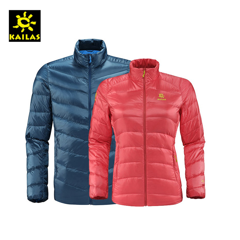 KAILAS/KG320064 Outdoor Wind-proof and Warm Down Jacket for Men and Women in Autumn and Winter