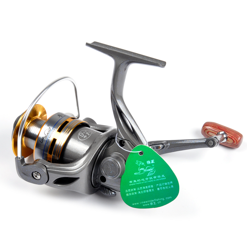 Wolf King Huangyan Island HYD4000 fishing reel metal head 10-axis reel 5000 fishing reel 3000 spinning wheel fish wheel