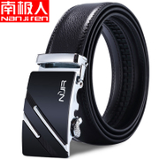 Men's belt buckle leather belt leather automatic belt Korean youth business students leisure middle-aged waistband