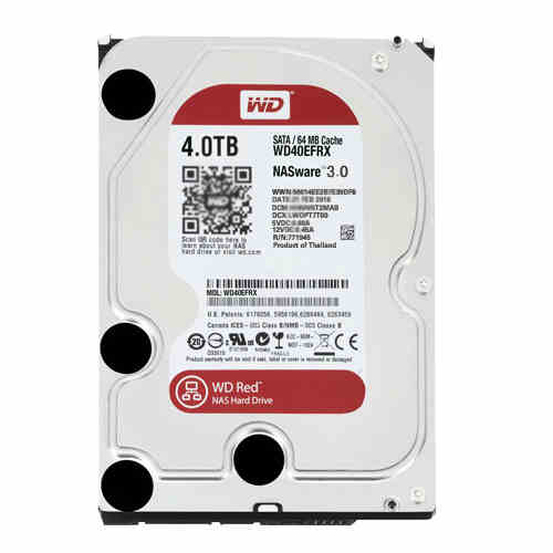 WD/Western Digital WD40EFRX 4T Desktop Hard Drive NAS Dedicated Red Disk 4TB