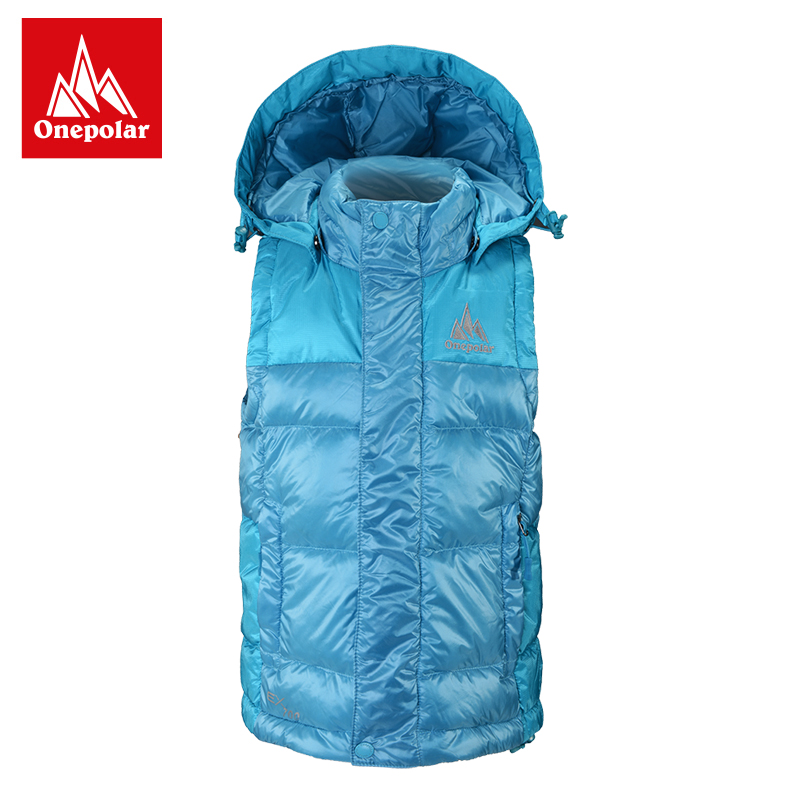Onepolar polar winter children's wear sleeveless down jacket outdoor leisure boys and girls with a warm thick vest
