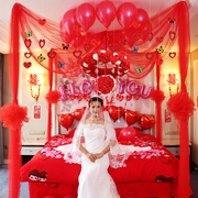 Creative wedding room layout romantic wedding products wedding bouquet decorative garland wedding supplies package bedroom houses