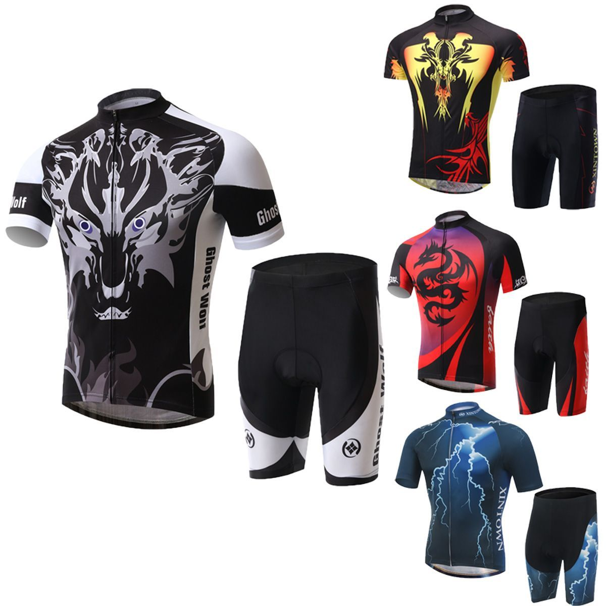 Customization of short-sleeved mountain bicycle cycling suit motorcade version cycling suit