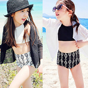 South Korea summer new children's swimsuit girl split Swimsuit Bikini three sets of girls swimsuit