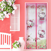 Summer mosquito curtain magnetic Ruansha curtains bedroom kitchen partition antifly custom fabric Salmonella screen door