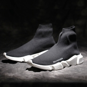 The British summer high elastic sock shoe lovers leisure sports shoes Paris shoes shoes shoes soled shoes