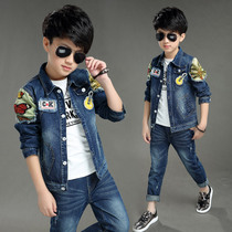 Boys Cowboys 20 new children in the childrens clothing kids clip children wear jacket suit