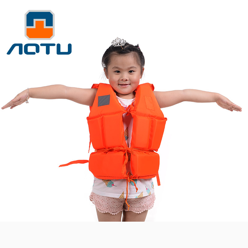 Thick foam baby child life jacket swim vests Fat float baby child specialty bath sponge suits