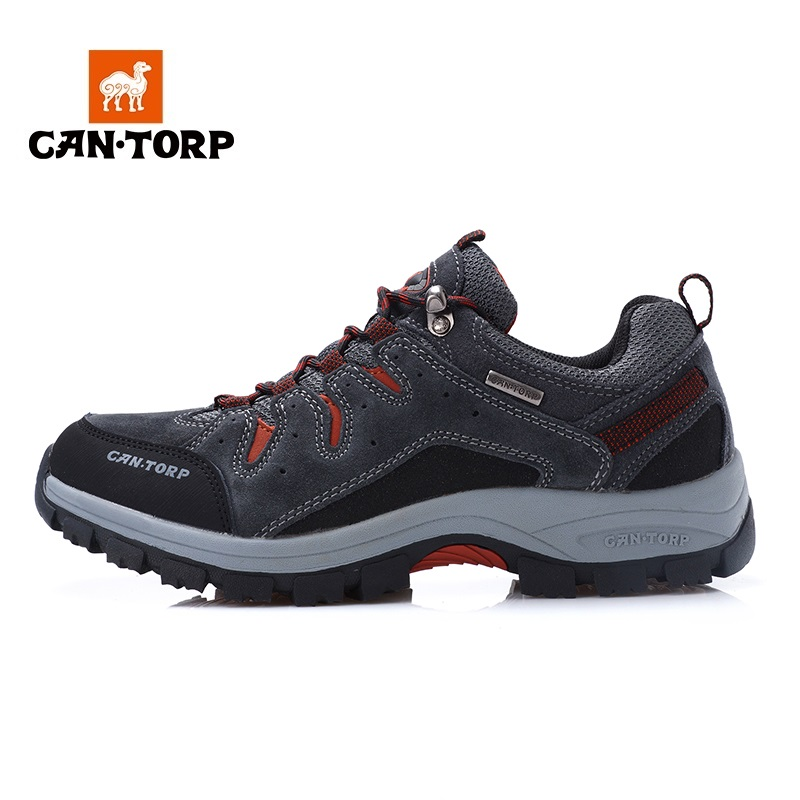CANTORP camel hiking shoes men autumn and winter waterproof warm non-slip walking shoes outdoor sports wear shock absorber