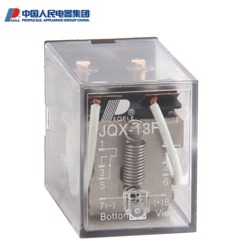 PEOPLE People's Electrics Electromagnetic Relays JQX-13F AC6V