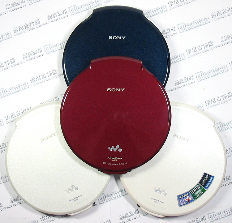 Flagship Sony SONY D-NE20 CD Walkman / CD player / CD player, lightweight and light size