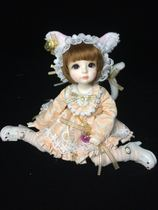 (Orange) bjd6 dress clothing apparel (meow fantasy series) sold out shows