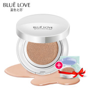 Blue love cushion BB Cream nude make-up Concealer strong moisturizing whitening CC non isolation liquid foundation 12zp-5b