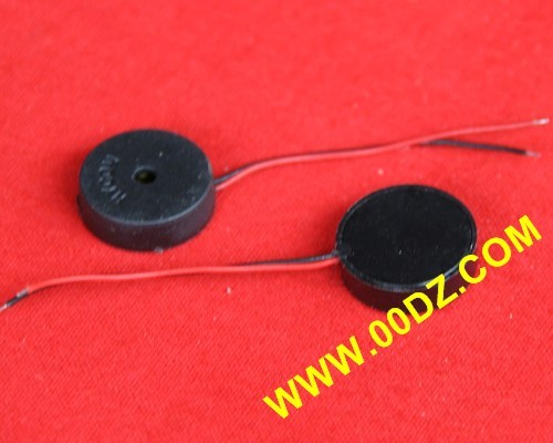 14mm Passive Piezoelectric Ceramic Buzzer with Strip Line and Shell