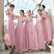 2017 new bridesmaid dress long elegant elegant bridesmaid dress skirt dress skirt