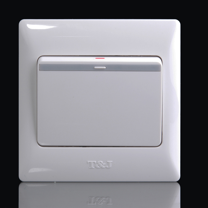 TJ-based switch socket Yaju Yabai opened a single double open single control 86 type home boutique