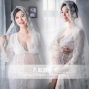 105 mothers pregnant women clothing studio pictures photo portrait beautiful white lace dress dress rental