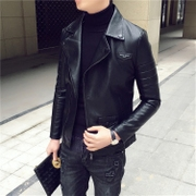 The new trend in the spring of the new style of South Korean men's coat jacket