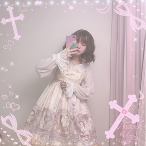 2a7af9bc6876  Angle  Brand Original homemade Angel Concerto Lace Lolita jsk Classic  Sweet little Women Dress