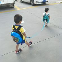 Children out of school bag, baby bag, baby out of backpack