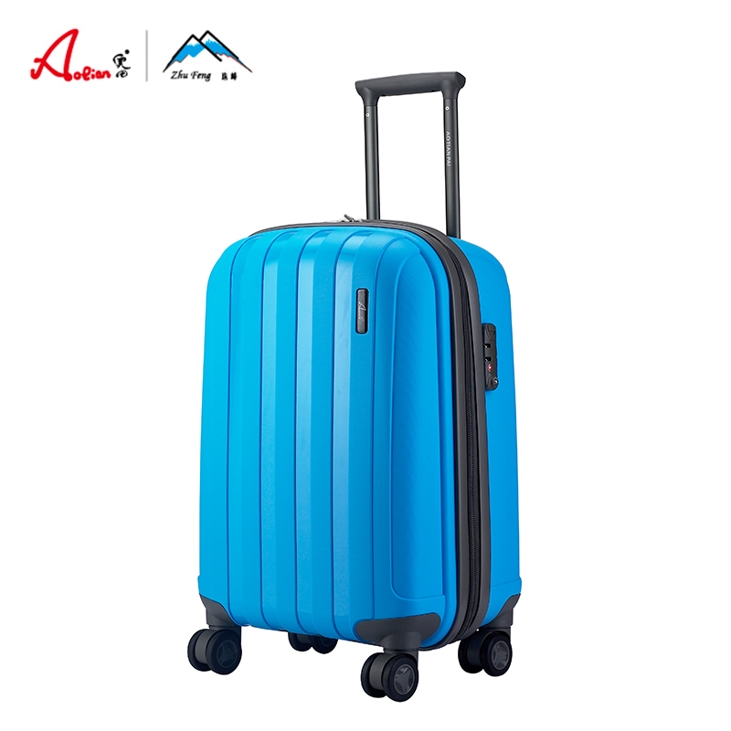 Aotian new style trolley luggage explosion proof zipper universal wheel sea