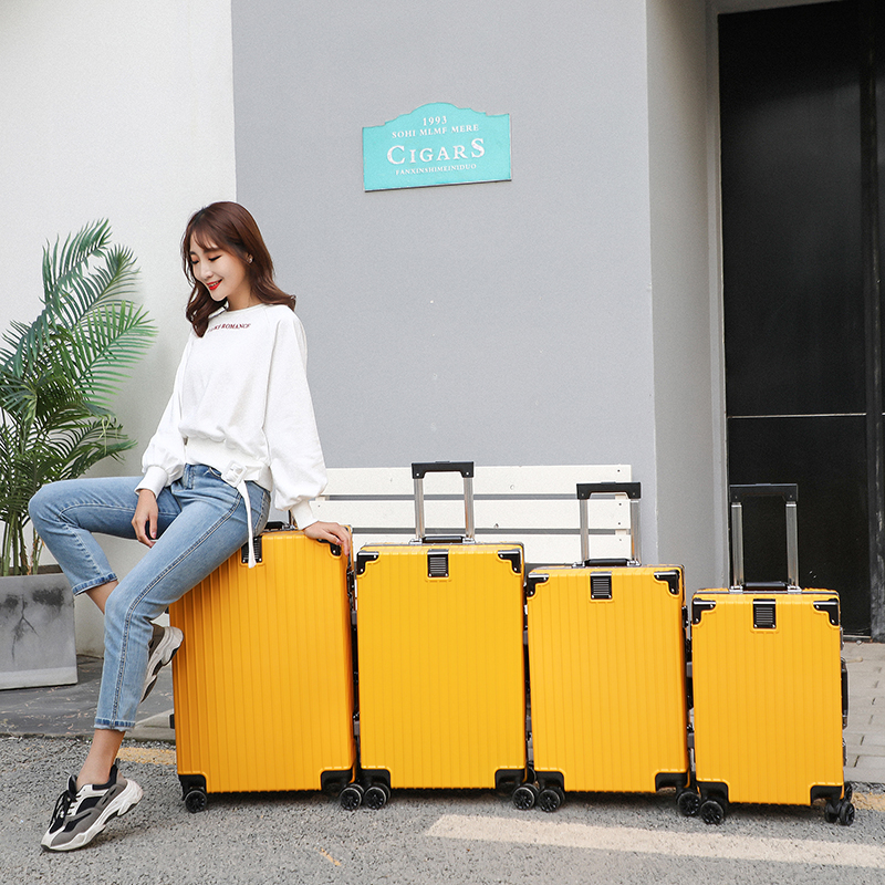 Password trolley case, suitcase, Cardan wheel, scratch resistant and wear-resistant suitcase for men and women