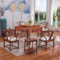 四年老店 保证麻将牌新中式实木麻将机餐桌两用全自动麻将桌红木