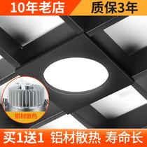 广东十年老店 超20种颜色led格栅灯15x15嵌入式网格吊顶专用