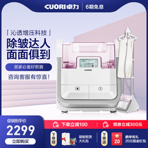 Guangdong sales of more than seven hundred and seven years old shop appliances Zhuo Li hanging ironing machine household steam small iron hand-held ironing machine vertical